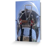 Bomber Nose Greeting Card
