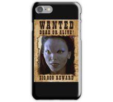 Buffy Drusilla Wanted 1 iPhone Case/Skin