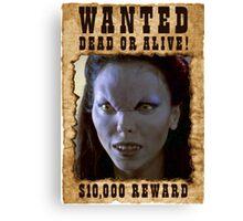 Buffy Drusilla Wanted 1 Canvas Print