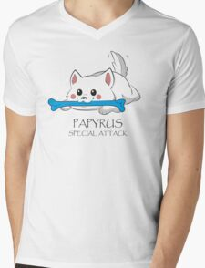 Undertale - Papyrus's special attack Mens V-Neck T-Shirt