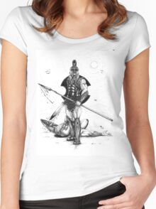 Achilles Women's Fitted Scoop T-Shirt