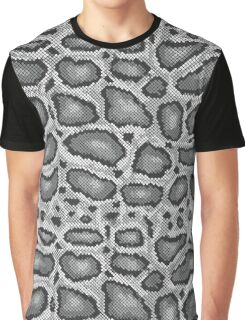 Python Texture Graphic T-Shirt