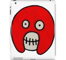 Boosh Skull - Red iPad Case/Skin