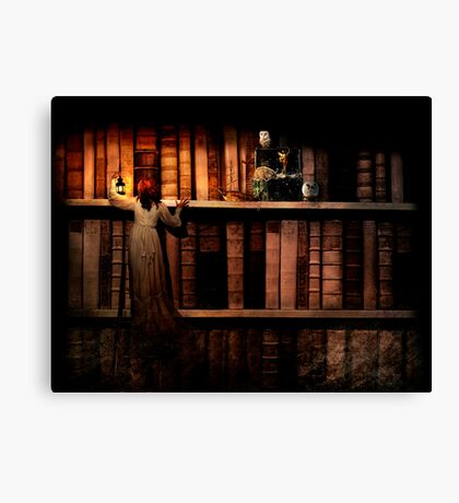 Treasure Hunt Canvas Print