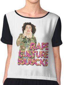Rape Culture Sucks Chiffon Top