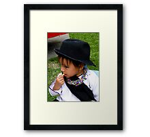Cuenca Kids 442 Framed Print