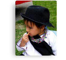 Cuenca Kids 442 Canvas Print
