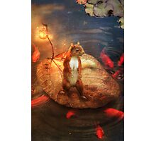 Columbus the Squirrel Photographic Print