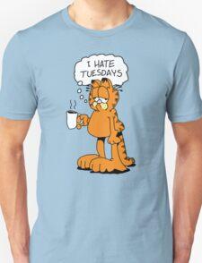 GRAFIELD - I HATE TUESDAYS Unisex T-Shirt