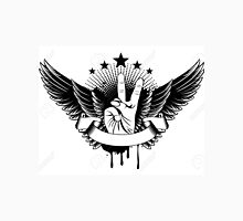 Vector Illustration - Symbol Victory And Wings Tank Top