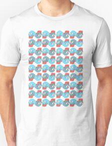 Spots and Stripes Skull Unisex T-Shirt