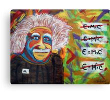 Albert Einstein T-Shirts Canvas Print