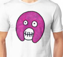 Boosh Skull - Purple Unisex T-Shirt