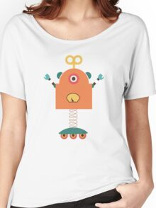 Cute Retro Robot Toy Women's Relaxed Fit T-Shirt