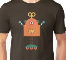 Cute Retro Robot Toy Unisex T-Shirt