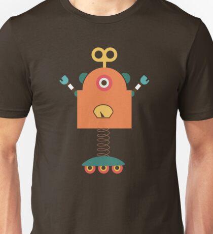 Cute Retro Robot Toy Unisex T-Shirt