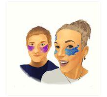 Martin and Amanda Art Print