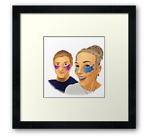 Martin and Amanda Framed Print