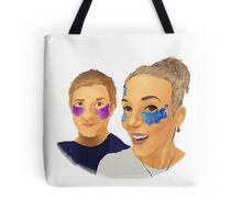 Martin and Amanda Tote Bag