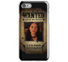 Buffy Drusilla Wanted 2 iPhone Case/Skin
