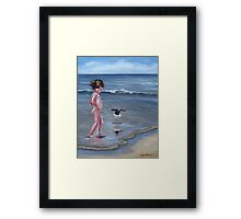 Oh Hello There! Framed Print