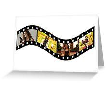 Dollhouse Echo Eliza Dushku Greeting Card