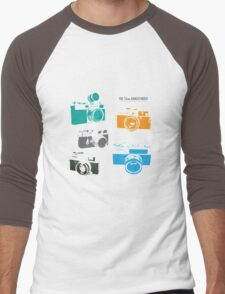 Vintage Cameras - The 35mm Rangefinder Men's Baseball ¾ T-Shirt