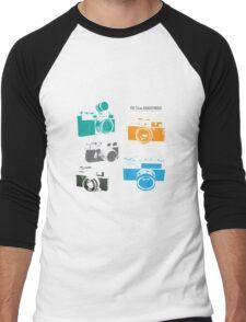 Vintage Cameras - The 35mm Rangefinder Men's Baseball ¾ T-Shirt