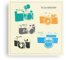 Vintage Cameras - The 35mm Rangefinder Metal Print