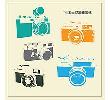 Vintage Cameras - The 35mm Rangefinder Photographic Print