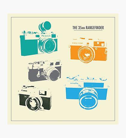 Vintage Cameras - The 35mm Rangefinder Photographic Print