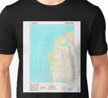 USGS TOPO Map Alaska AK Seldovia B-6 SE 353780 1987 25000 Unisex T-Shirt