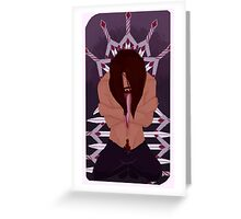 Ten of Swords Greeting Card