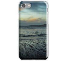 Aberafan Beach - Winter Blue iPhone Case/Skin
