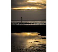 Golden Break Photographic Print