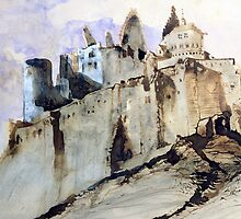 The Chateau of Vianden by Bridgeman Art Library