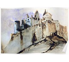 The Chateau of Vianden Poster