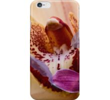 Orchid collage iPhone Case/Skin