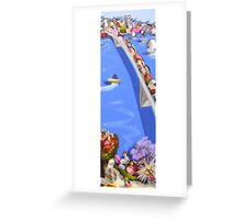 Bridge to your heart Greeting Card