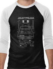 Super Entertainment System PAL Men's Baseball ¾ T-Shirt