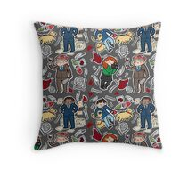 Hannibal Tote (gray) Throw Pillow