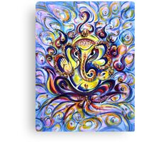 AUM GANESHA - BLISS Canvas Print