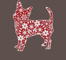 Christmas Snowflakes Chihuahua Unisex T-Shirt