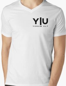 Yenum Ult Black Alternative Mens V-Neck T-Shirt