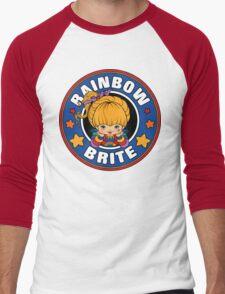Rainbow Brite Men's Baseball ¾ T-Shirt