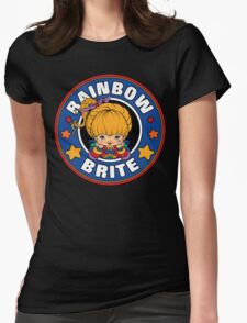 Rainbow Brite Womens Fitted T-Shirt