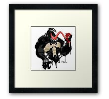 Game over Spidey Framed Print