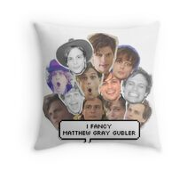 I fancy Matthew Gray Gubler Throw Pillow