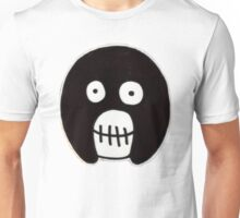 Boosh Skull - Black Unisex T-Shirt