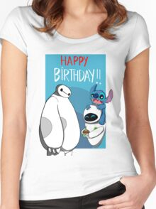 Happy birthday to you Women's Fitted Scoop T-Shirt